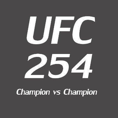UFC 254 PPV Fight Live stream