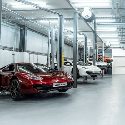 Bell & Colvill -McLaren Guildford Approved Service