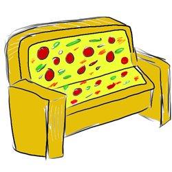 Sofa Pizza