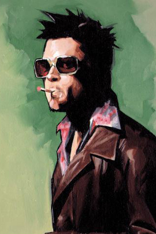 I M Tyler Durden On Twitter Go Froggen Elwin Rh Com Iphone 6 Wallpaper