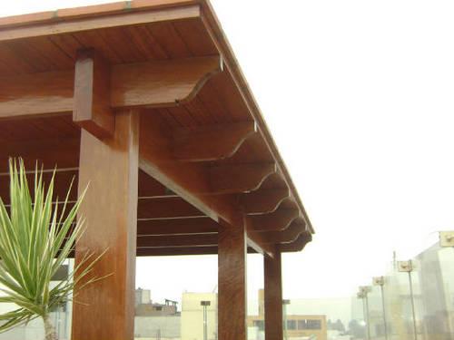 Techos de madera techodemadera twitter - Techo de madera ...