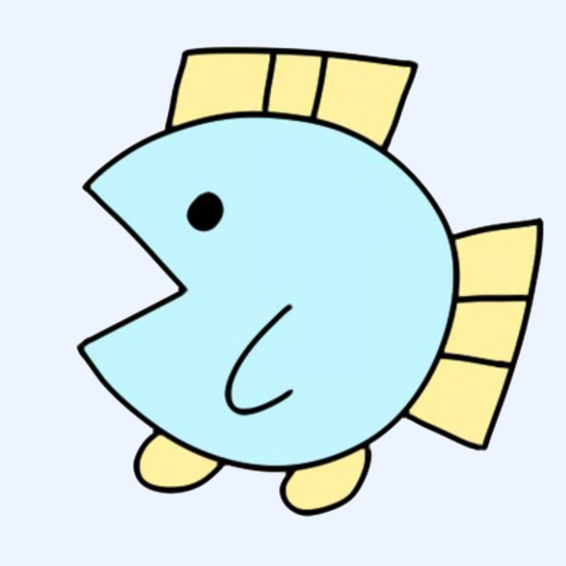 ニョペ茄子🐟魚の4コマ