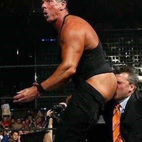 kissing wrestlers Ass