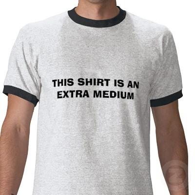 Image result for extra medium shirt
