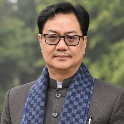 MINISTER OF LAW AND JUSTICE, INDIA  Member of Parliament, Arunachal Pradesh
