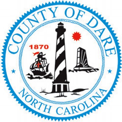 Dare County Logo Dare County em