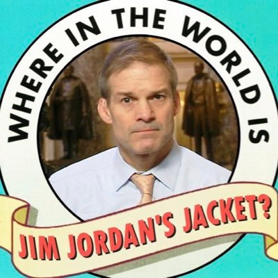 Jim Jordan's Missing Jacket