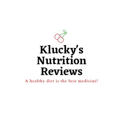 Klucky's Nutrition Reviews