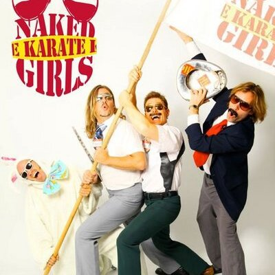 girls Naked karate
