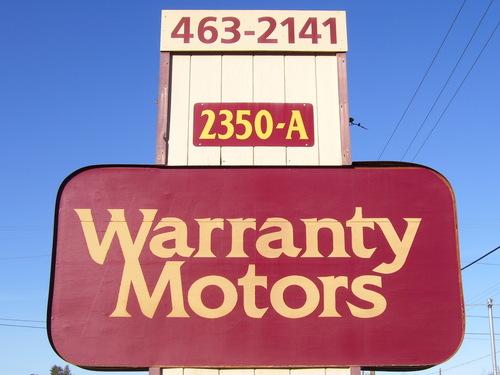 Warranty Motors