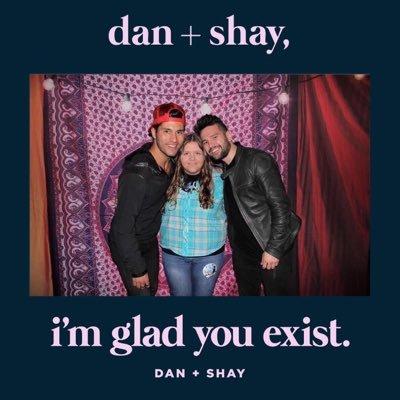 lol but ur not dan + shay