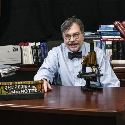 Prof Peter Hotez MD PhD Profile