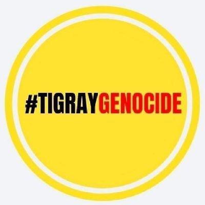 #TigrayGenocide Profile