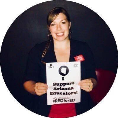 Science Educator, Organizer with @AZEDUnited & @NEUSolidarity, #RedforEd, Mom, Chitown Roots, organizing & 3-D sensemaking are my jams ✊🏻