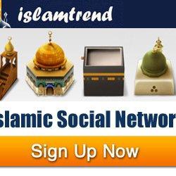 Social network islamtrend tweets 260 following 211 followers 127