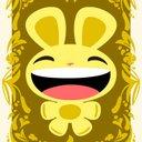 Bunnycard happy reasonably small