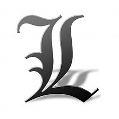 L Death Note Officiallawliet Twitter