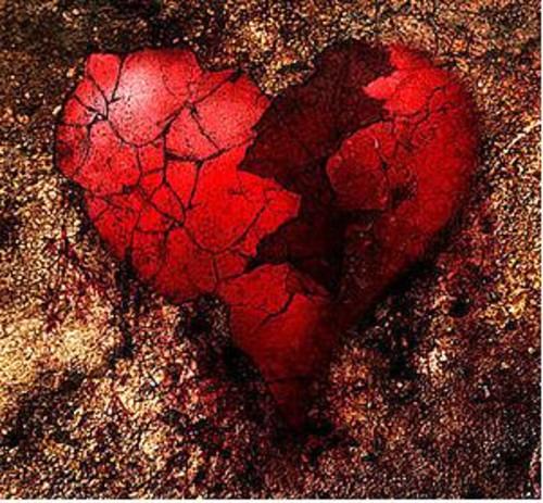 сердце на части фото вас