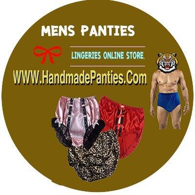B001 Rose Men/'s Soft Satin Low Rise Briefs Panties Open Front Hole Sissy Bikini Underwear Open Crotch Crotchless Bikini Panty Size M L XL