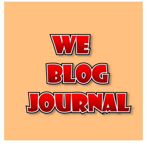 We Blog Journal Profile Image