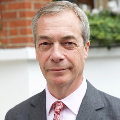 """Nigel Farage on Twitter: """"At 5pm today I will be making an announcement  about a big career change. Watch this space."""""""