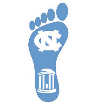 Tar Heel Ribbon Foot — UNC Lineberger Comprehensive Cancer Center