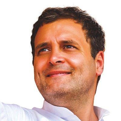 Rahul Gandhi (@RahulGandhi )