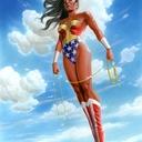 Wonderwoman reasonably small