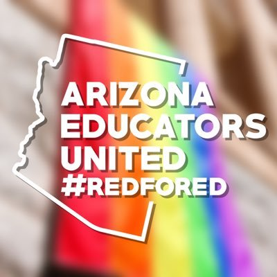 70,000+ Educators and our Supporters #WEnotME. We are Arizona Educators United (AEU) and we are forever #REDforED.