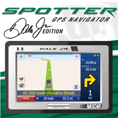 Rightway spotter dale jr. Edition gps receiver | ebay.