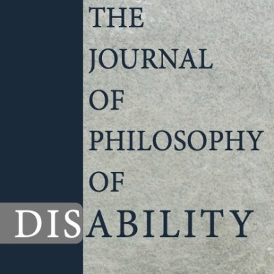 The Journal of the Philosophy of Disability, official journal of @SPhilDis. Edited by @joelmreynolds and @teresaburke. Managing editor @sabrina_p_leeds.