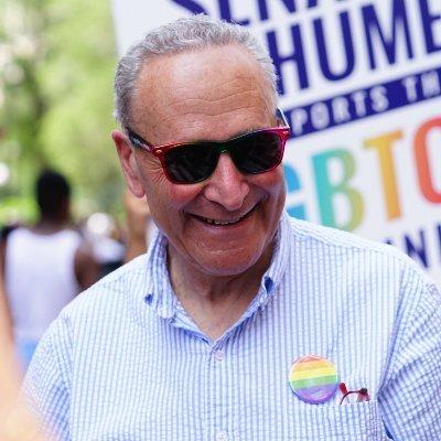 Official Account of Senator Chuck Schumer, New York's Senator and the Senate Majority Leader.