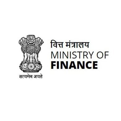 Official Account of the Ministry of Finance, Government of India.