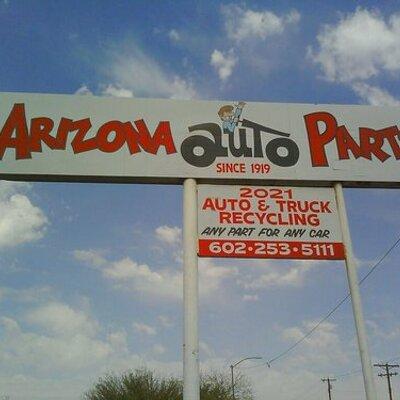 Buckeye Auto Parts >> Arizona Auto Parts Arizonaautopart Twitter