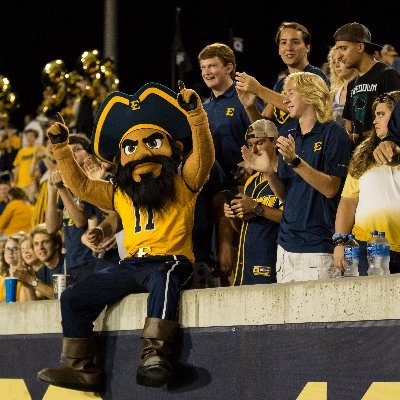 Official account of BucWild 💙💛 We're the best student section in the SoCon representing East Tennessee State University Athletics ⚔️