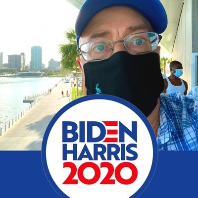 Democracy Activist, Proud pragmatic Democrat, Stephen's husband, #BlueTsunami Floridian #JusticeMatters #Accountability #Consequences — We'll get through this.