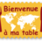 Bienvenue à ma table's Twitter avatar