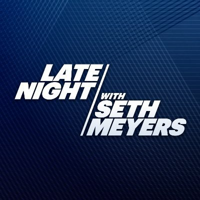 Official Twitter handle for Late Night with @SethMeyers, weeknights at 12:35/11:35c on @NBC. Streaming on @PeacockTV now.