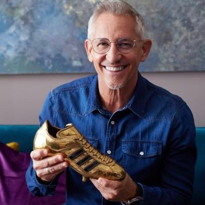Once kicked a ball about. Now talk about kicking a ball about. Still flogging spuds. BBC Sport, Walkers, @goalhangerfilms ...Instagram garylineker