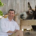 Ds publicity pic with donkey 1 reasonably small
