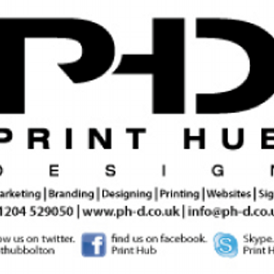 Print hub bolton on twitter print hub design leaflets and business print hub bolton reheart