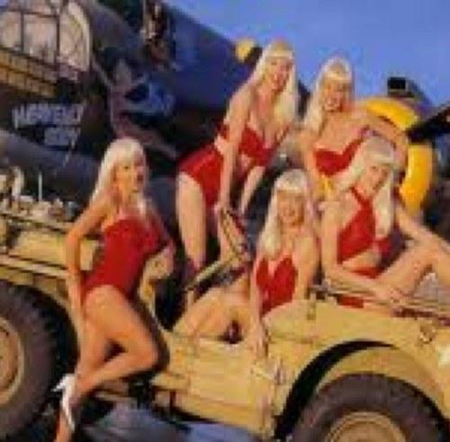 Swedish bikini team girls