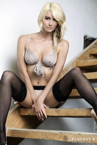 Sexy brunette lingerie ass