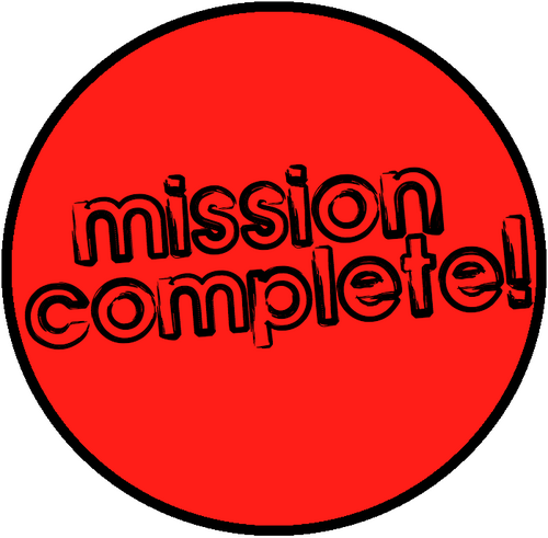 Image result for mission complete