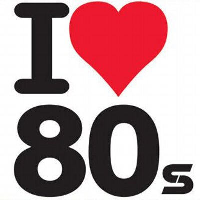 I Love the 80s Clip Art
