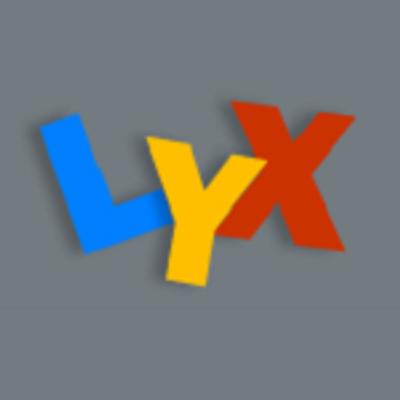 lyx lyx org twitter