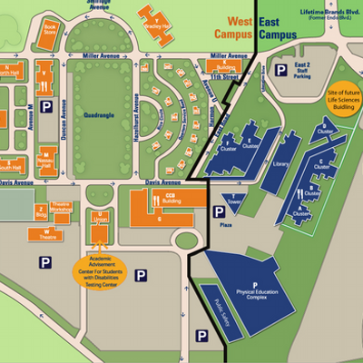 Ncc Campus Map Ncc Campus Map | Time Zone Map
