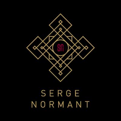Serge Normant Badge Logo Design