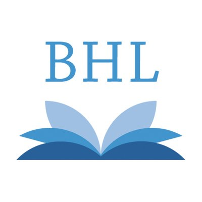 BHL (@BioDivLibrary) Twitter profile photo