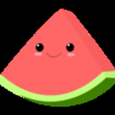 Cute Watermelon Clipart random quotes melon (@...
